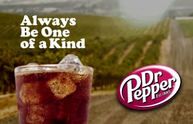 Dr. Pepper - Fred the Falconer