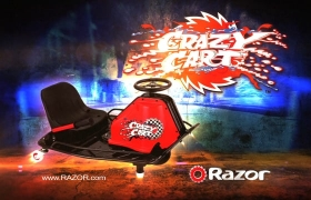 Razor Crazy Cart - Obstacle Course